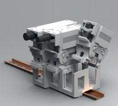 Адаптер на рейку DIN Tyco Electronics