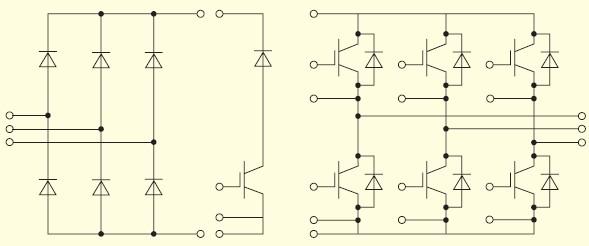 Вид частей внутреннего соединения в IGBT-модулях фирмы IXYS