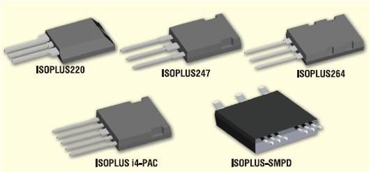 Изолированные корпуса IGBT Ixys