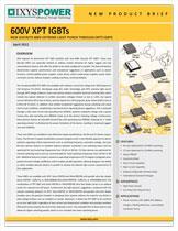 Ixys 600V XPT IGBT