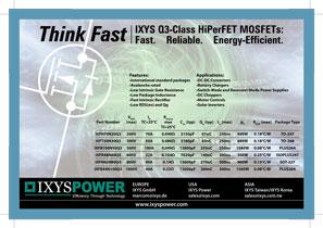 Ixys MOSFET класса Q3