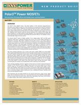 Ixys MOSFET класса Polar3