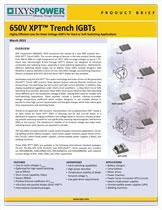 Ixys 650В IGBT с технологией XPT