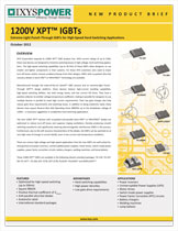 Ixys 1200В IGBT с технологией XPT