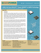 Ixys 1000В SMPD MOSFET класса Q3