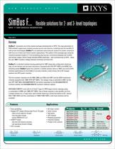Ixys IGBT модули в корпусе SimBus F