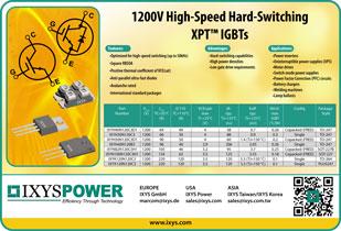 Ixys Высокоскоростные 1200В XPT IGBT