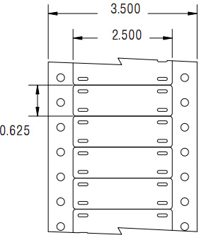 Кабельные маркеры Tyco HMX