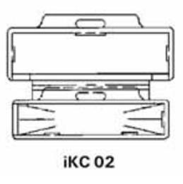 Кабельные клипсы Tyco iKC02