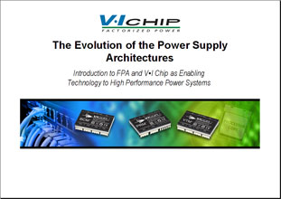 Презентация Vicor The Evolution Of The Power Supply Architectures